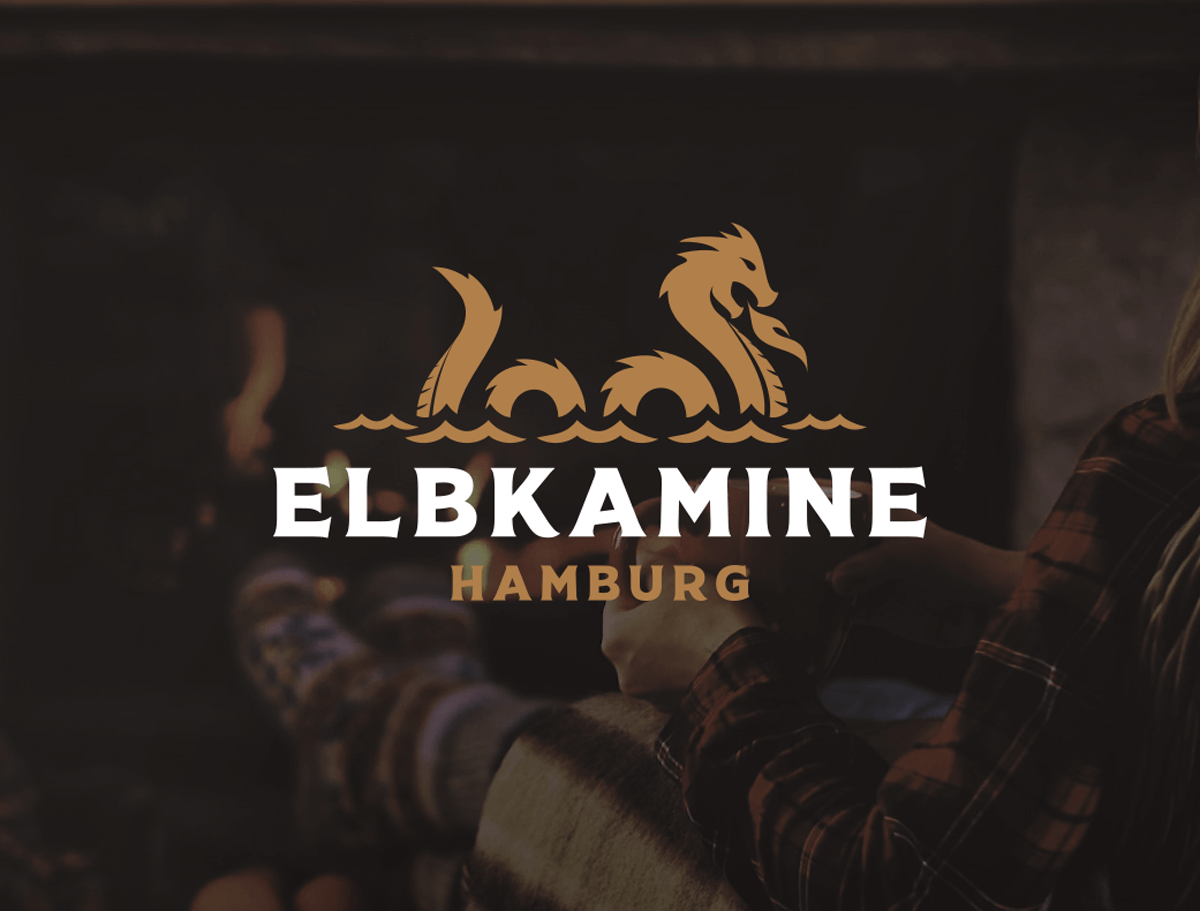 corporate-design für das startup elbkamine hamburg